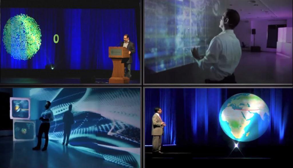 proyección interactiva presentación productos y marcas