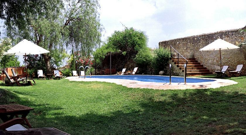 piscina Hotel mont sant Xativa
