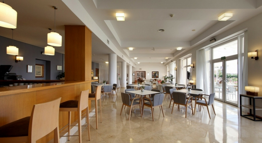 cafetería Hotel Parador de Jávea