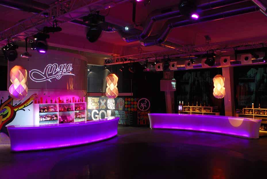 Venue - espacio para eventos - discoteca Mya - JOBA Eventos