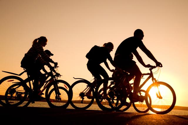 Organización de rutas ciclistas de networking