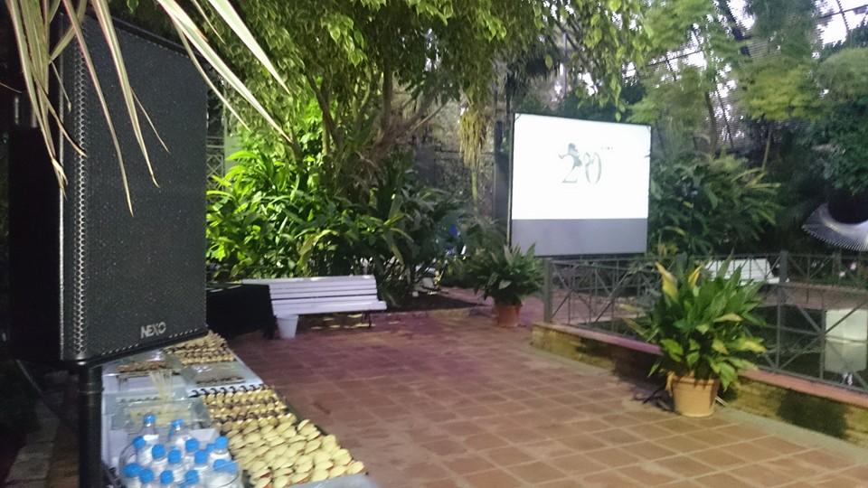 evento jardín botánico Valencia