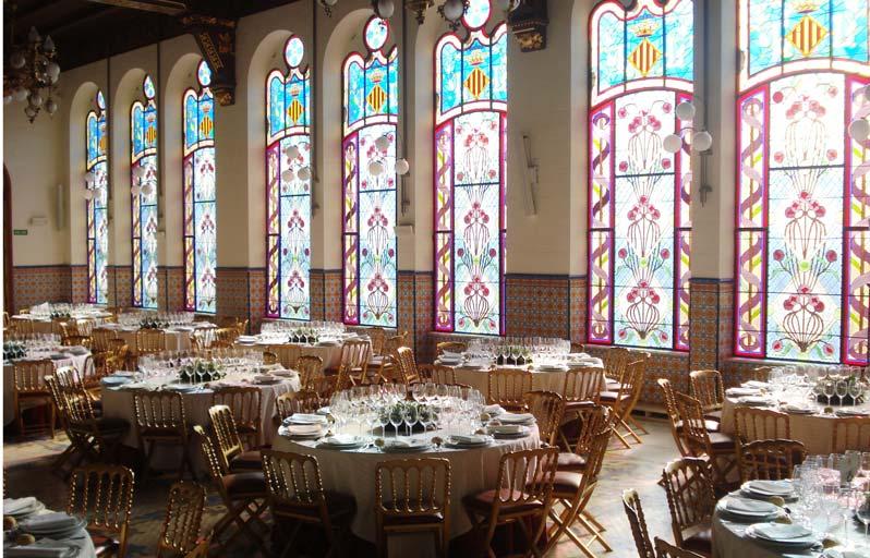 mesas palacio exposición valencia